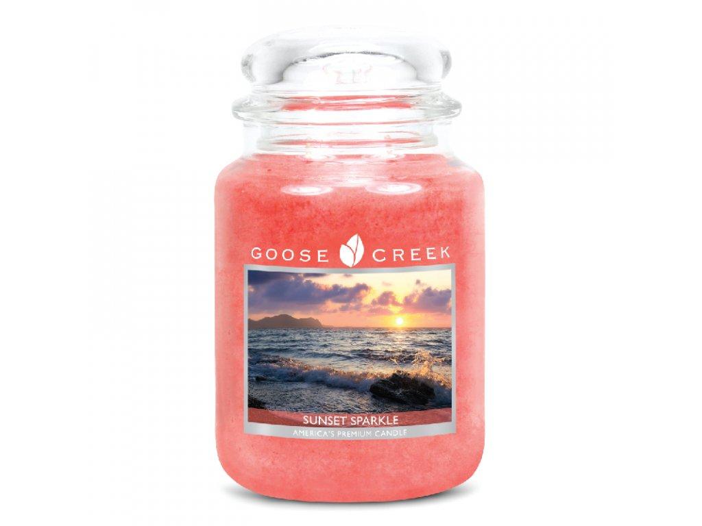 Goose Creek Candle svíčka Západ slunce - Sunset Sparkle, 680 g