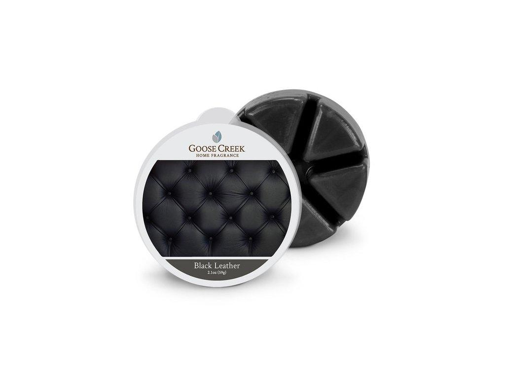 Goose Creek Candle Vonný Vosk Černá kůže - Black Leather, 59 g