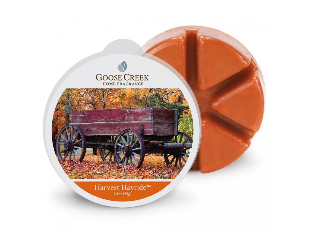 Goose Creek Candle Vonný Vosk Sklizeň sena - Harvest Hayride, 59 g
