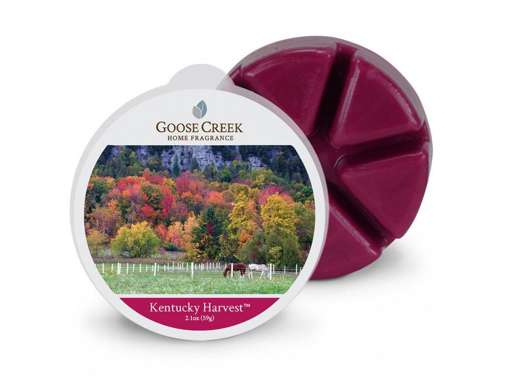 Goose Creek Candle Vonný Vosk Sklizeň v Kentucky - Kentucky Harvest, 59 g