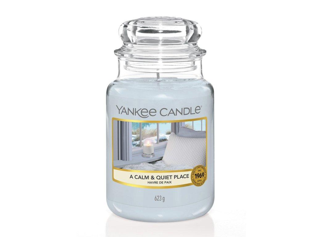 Yankee Candle Vonná Svíčka A Calm & Quiet Place classic velký, 623 g