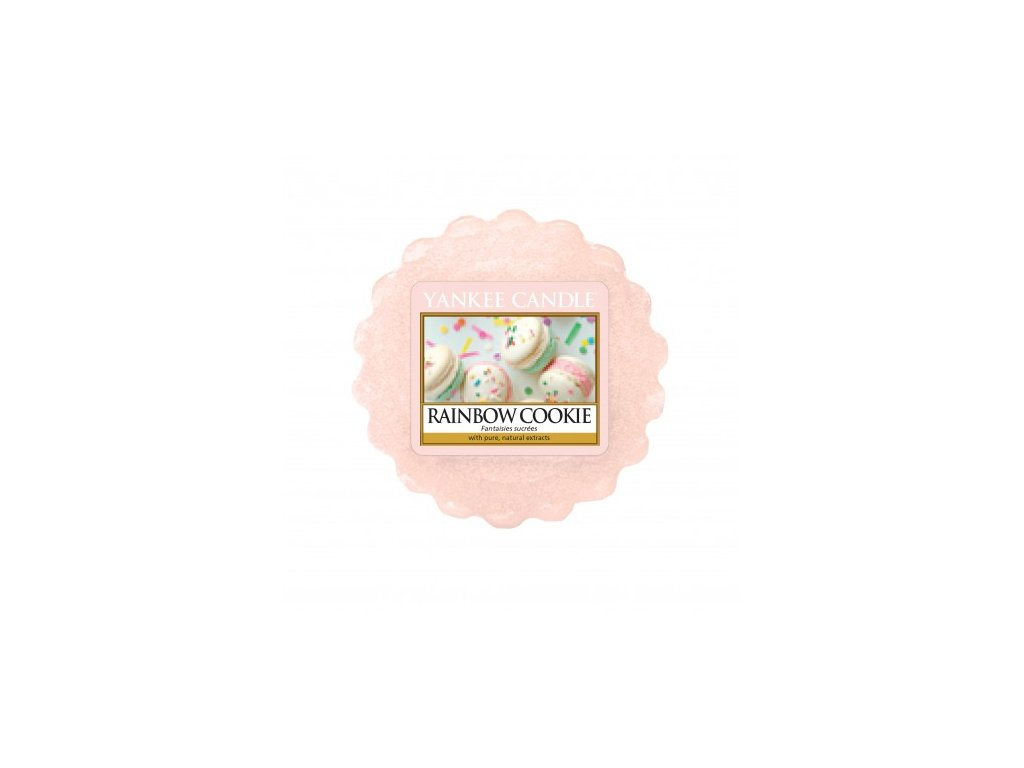 Yankee Candle - Rainbow Cookie Vosk do aromalampy, 22 g