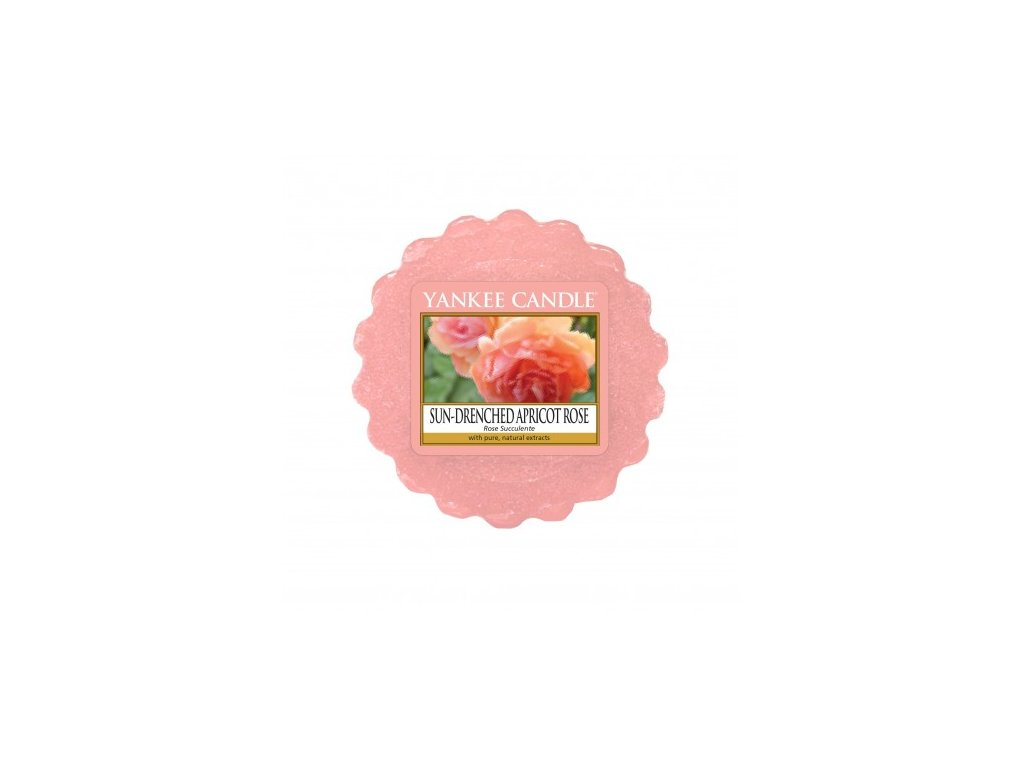 Yankee Candle - Sun-Drenched Apricot Rose Vosk do aromalampy, 22 g