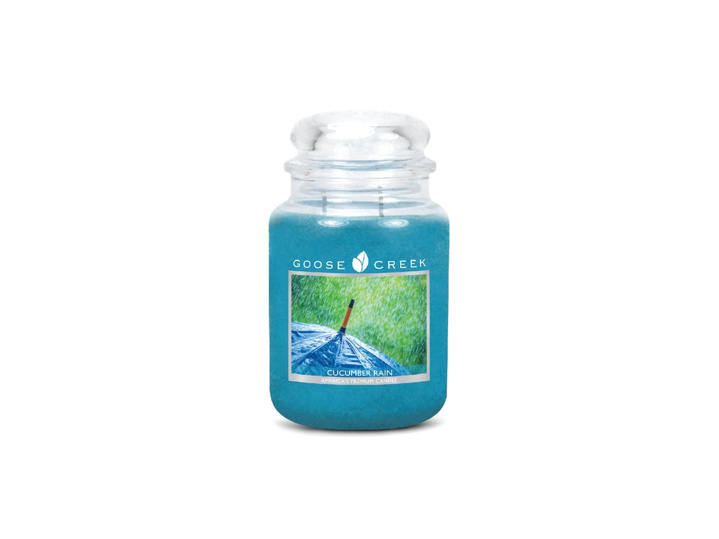 Goose Creek Candle svíčka Okurkový déšť - Cucumber Rain, 680 g