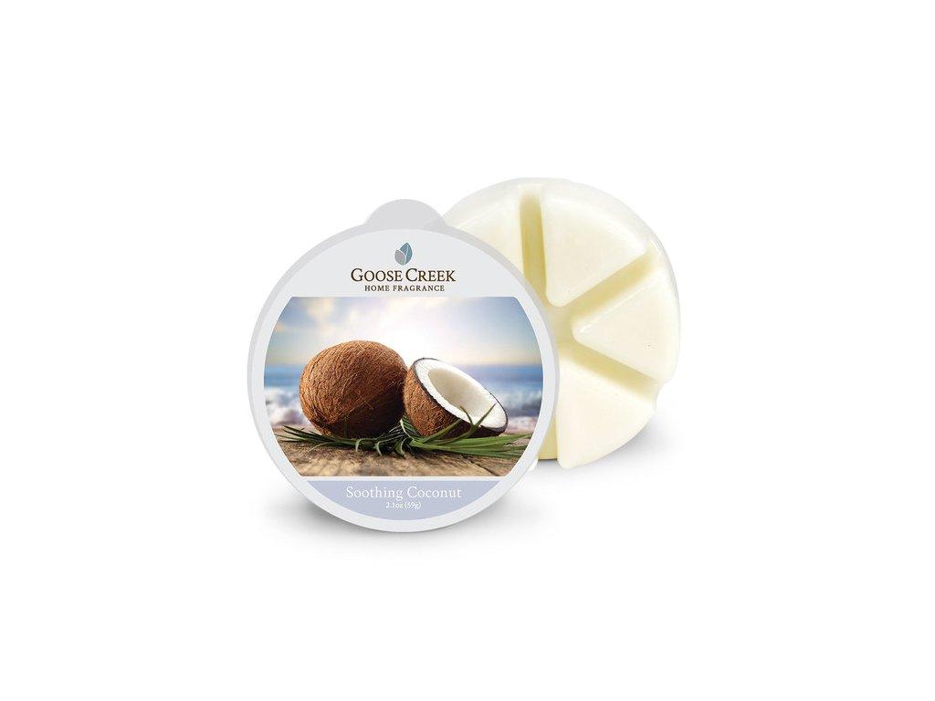 Goose Creek Candle Vonný Vosk Uklidňující kokos - Soothing Coconut, 59 g