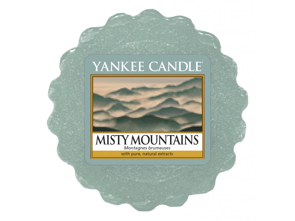 Yankee Candle - Misty Mountains Vosk do aromalampy, 22 g