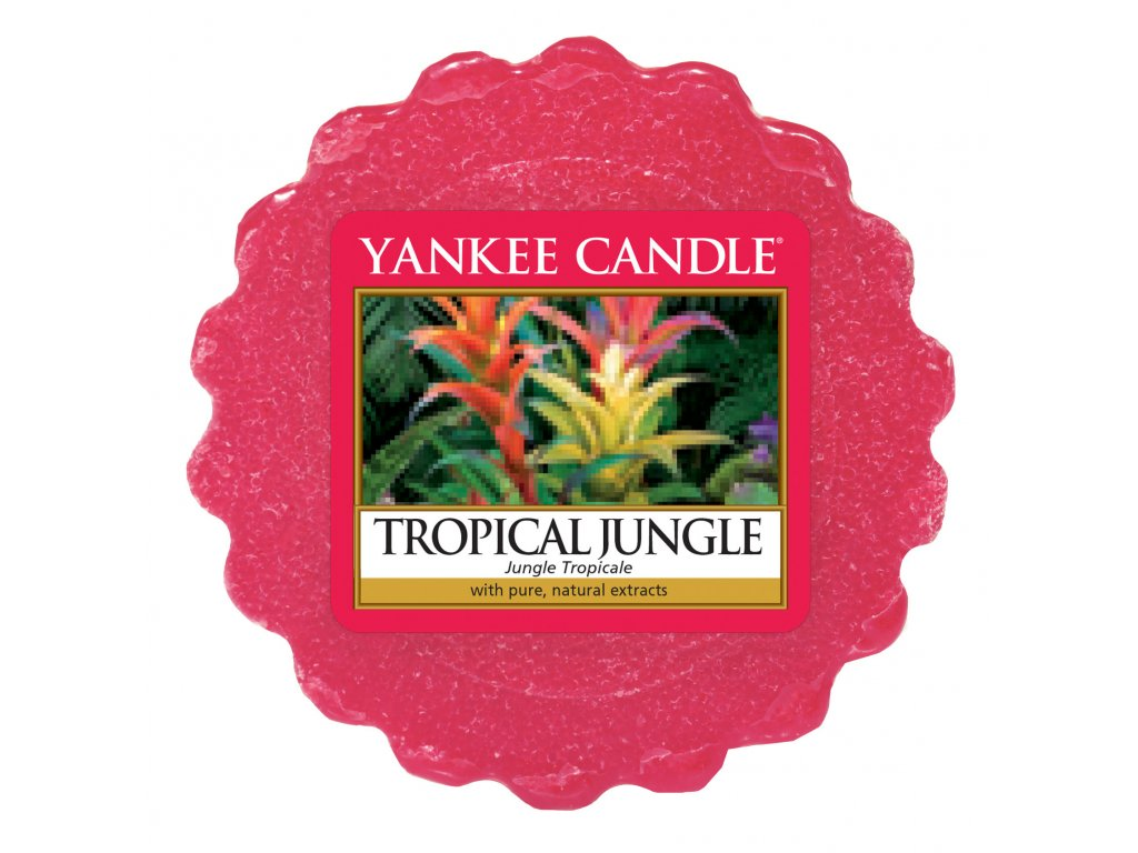 Yankee Candle - Tropical Jungle Vosk do aromalampy, 22 g