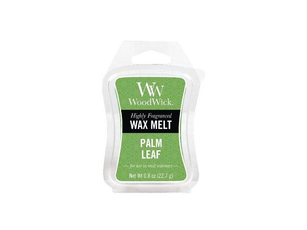 WoodWick Vonný vosk do aromalampy Palm leaf, 22.7 g