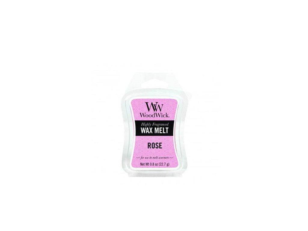 WoodWick Vonný vosk do aromalampy Rose, 22.7 g