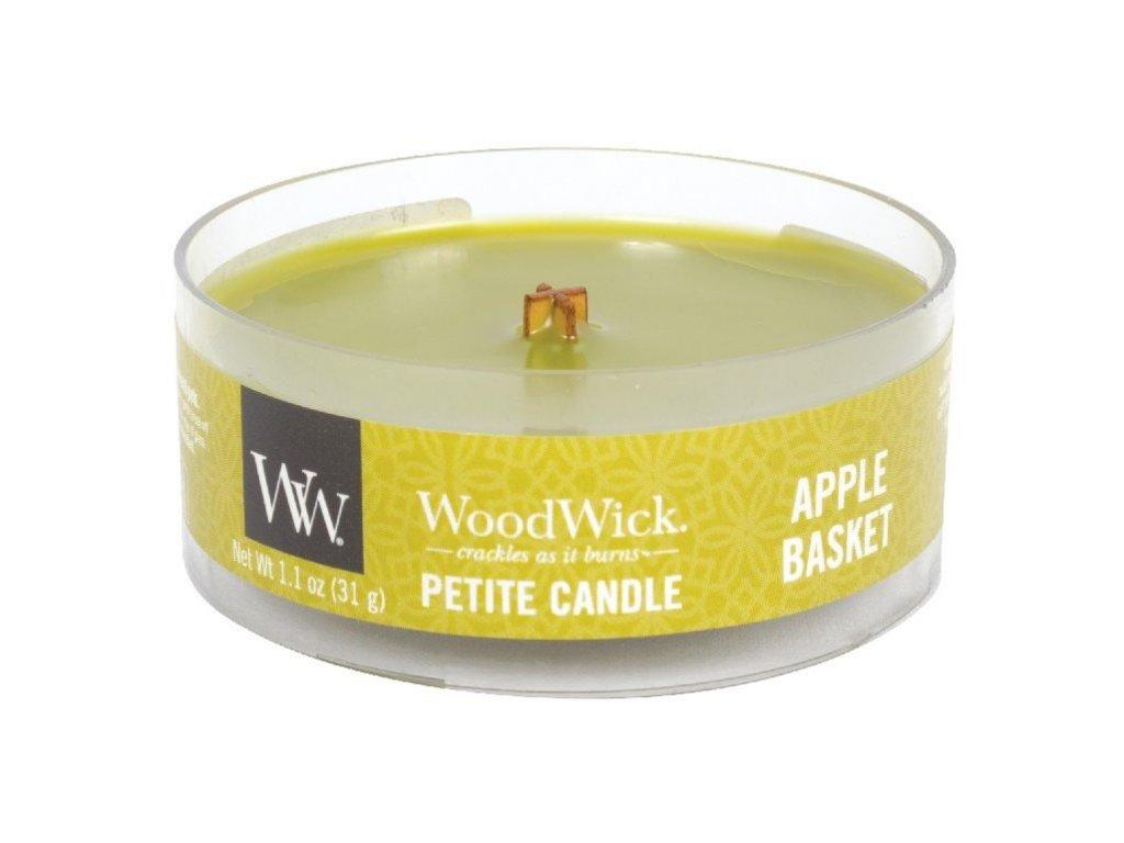 WoodWick Svíčka Petite Apple Basket, 31 g