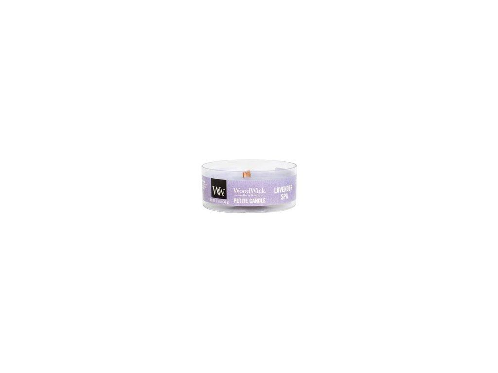 WoodWick Svíčka Petite Lavender Spa, 31 g