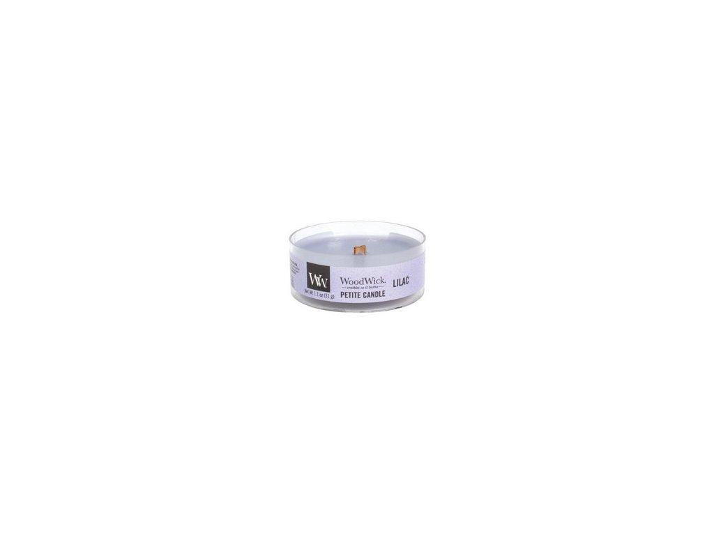 WoodWick Svíčka Petite Lilac, 31 g