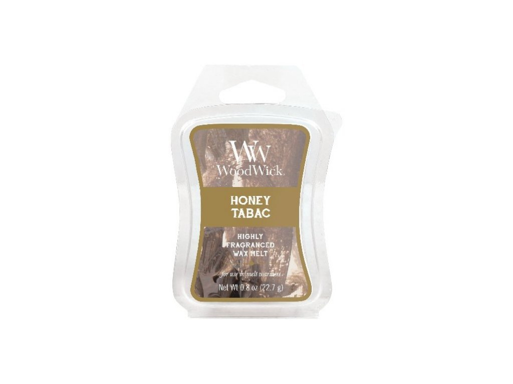 WoodWick Artisan Honey Tabac Vonný vosk do aromalampy, 22,7 g