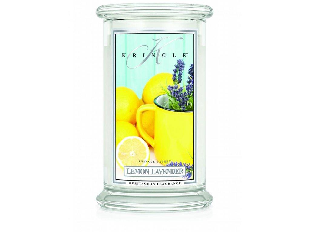Kringle Candle svíčka Lemon Lavender, 623 g