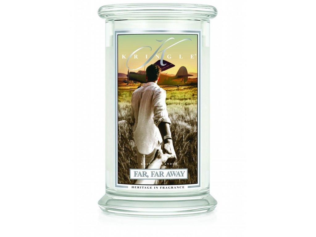 Kringle Candle svíčka Far Far Away, 623 g
