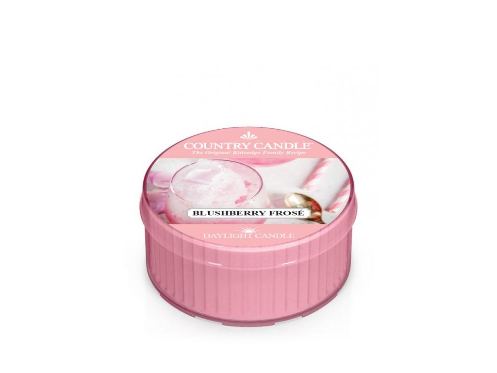 Country Candle Vonná Svíčka Blushberry Frose, 35 g