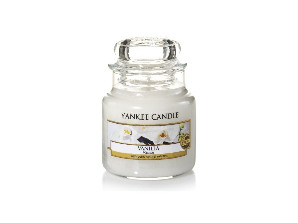 Yankee Candle Vonná Svíčka Vanilla classic malý, 104 g