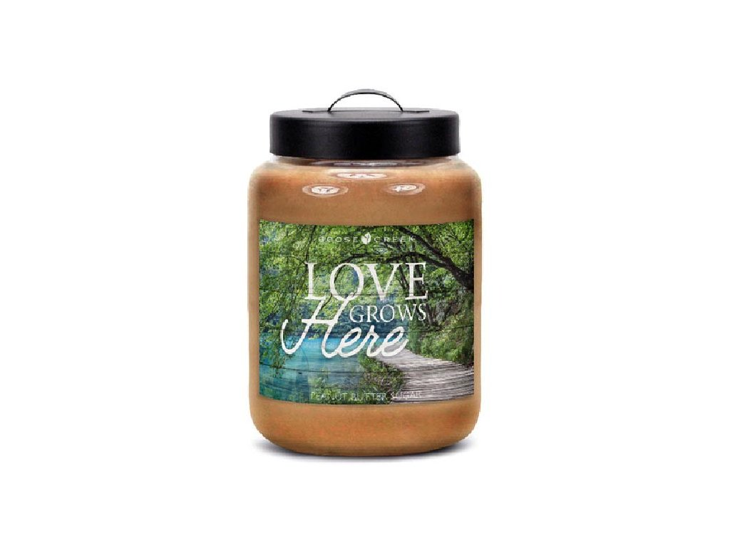 Goose Creek Candle svíčka Burákové sladké máslo - Peanut Butter Sugar, 680 g
