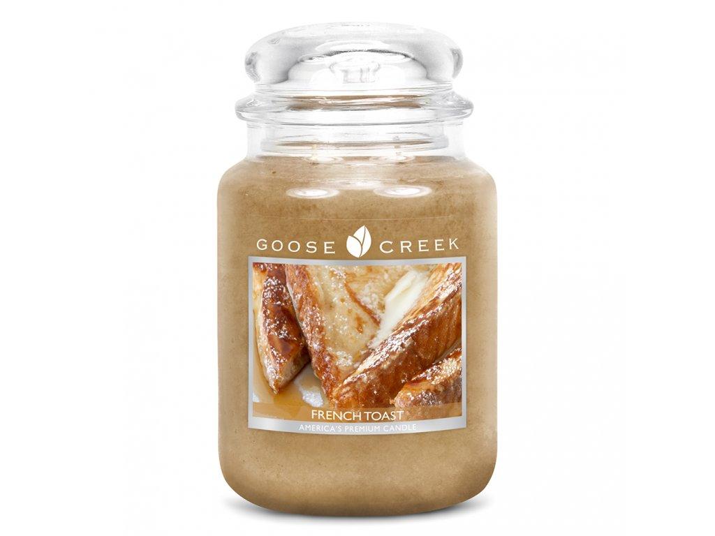Goose Creek Candle svíčka Francouzský toast - French Toast, 680 g