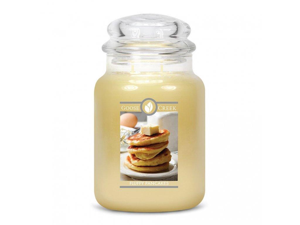 Goose Creek Candle svíčka Nadýchané lívanečky - Fluffy Pancakes, 680 g