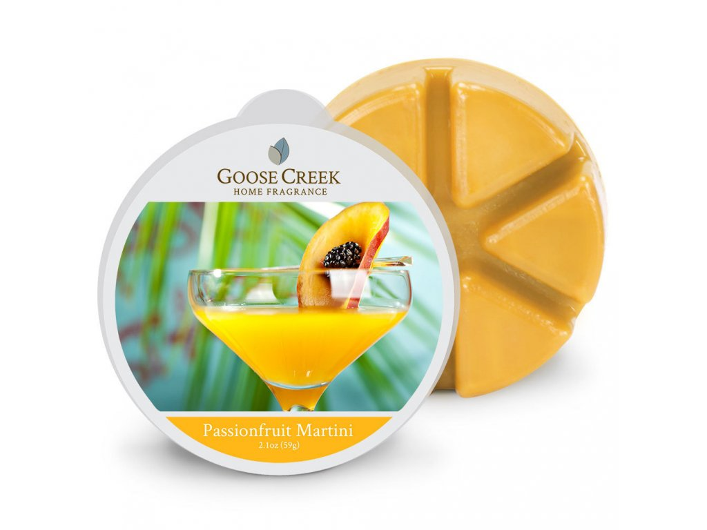Goose Creek Candle Vonný Vosk Vášnivé Martini - Passion Fruit Martini, 59 g