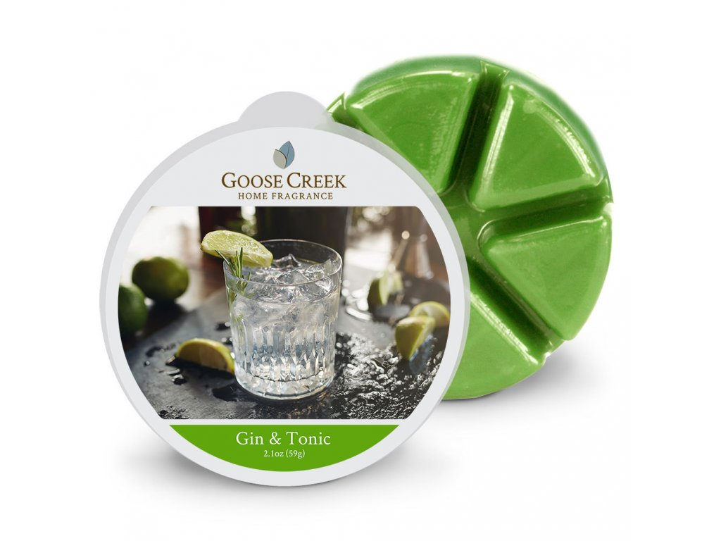 Goose Creek Candle Vonný Vosk Gin & Tonic - Gin & Tonic, 59 g