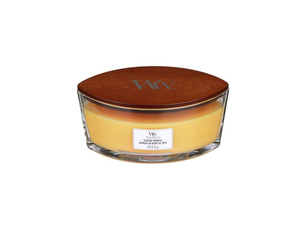 WoodWick Svíčka loď Seaside Mimosa, 453 g