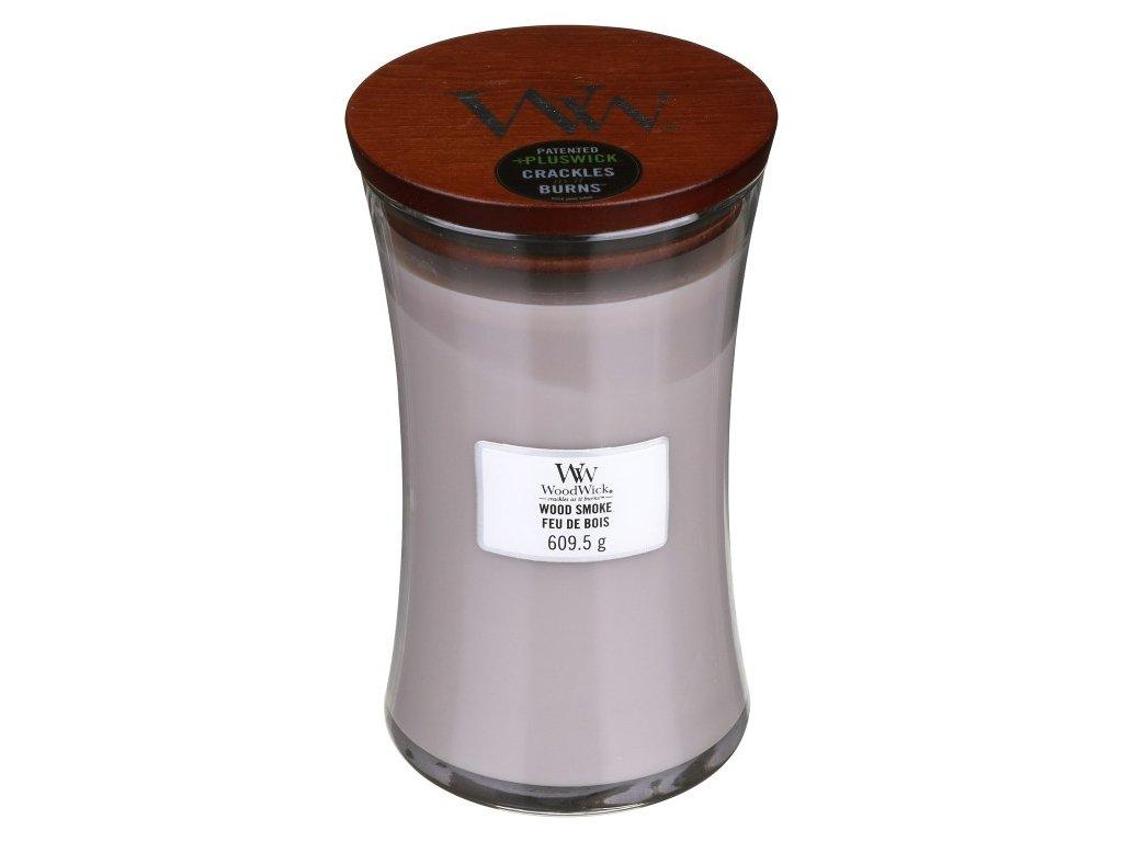 WoodWick Svíčka Wood Smoke váza velká, 609,5 g