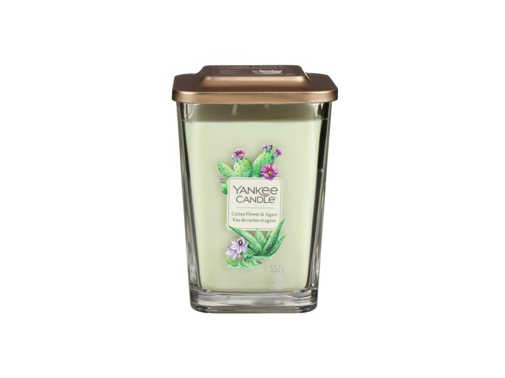 yankee candle 1630532e elevation cactus flowers agave large candle 2