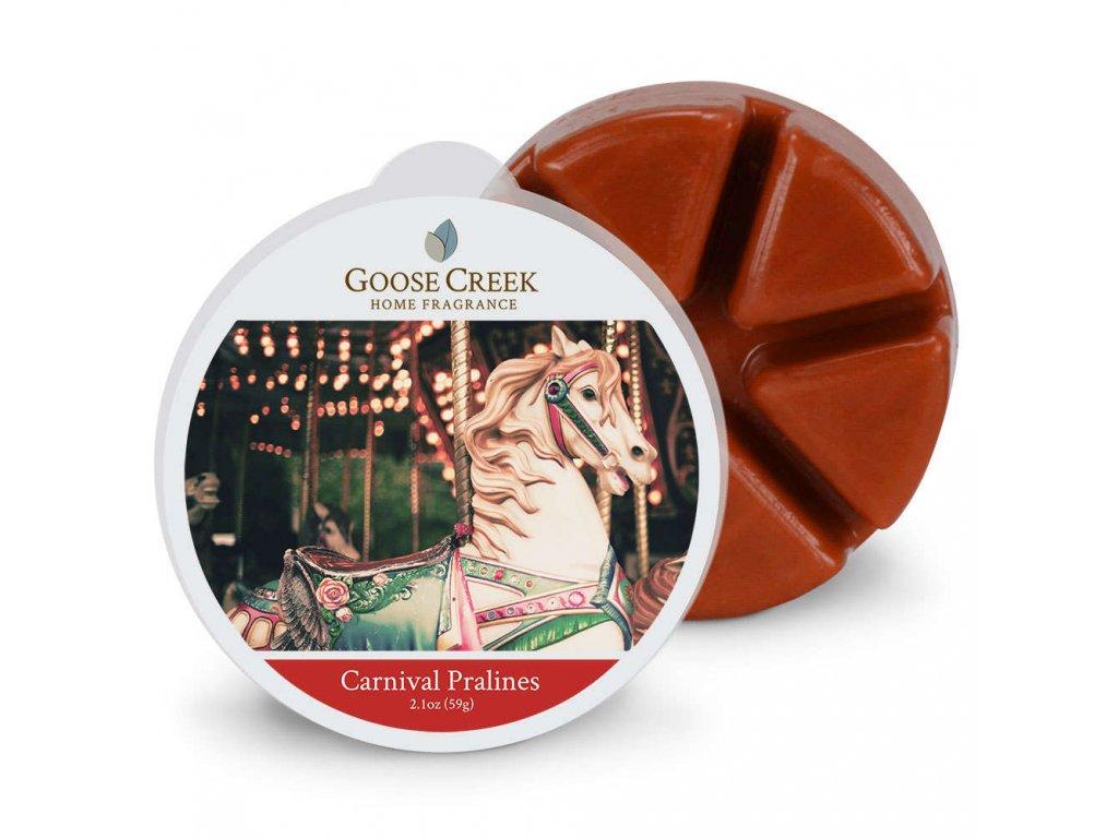 Goose Creek Candle Vonný Vosk Karnevalové pralinky - Carnival Pralines, 59 g