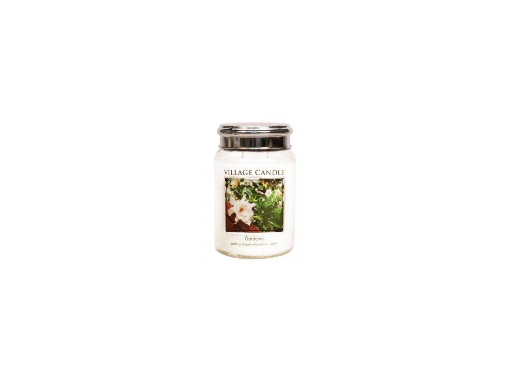Village Candle Vonná svíčka Gardénie - Gardenia, 602 g