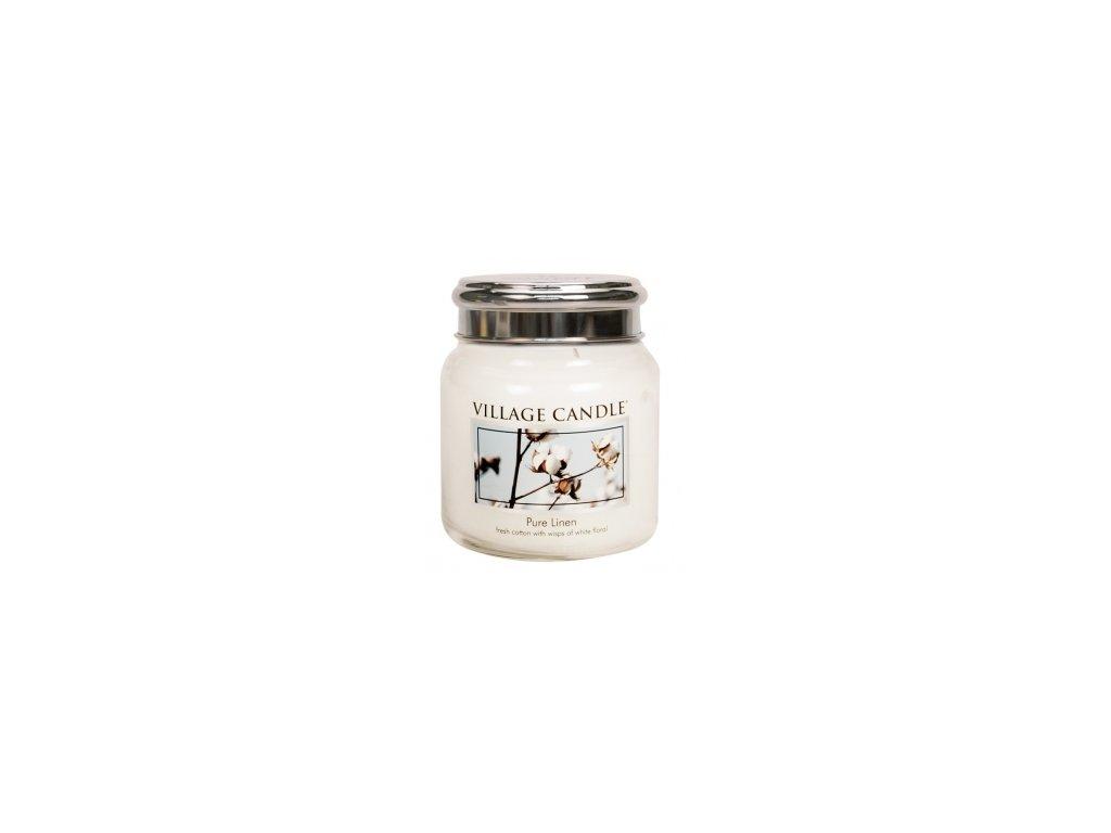 Village Candle Vonná svíčka Čisté Prádlo - Pure Linen, 390 g