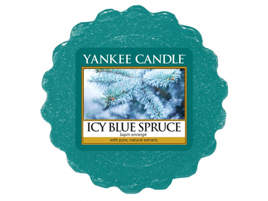 Yankee Candle - Icy Blue Spruce Vosk do aromalampy, 22 g