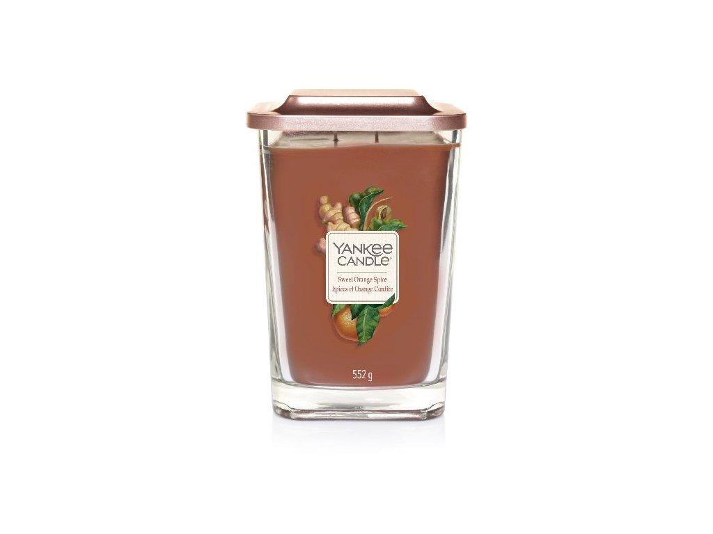 Yankee Candle Svíčka Elevation Sweet Orange Spice velká, 552 g