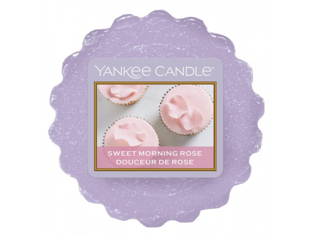 Yankee Candle - Sweet Morning Rose Vosk do aromalampy, 22 g