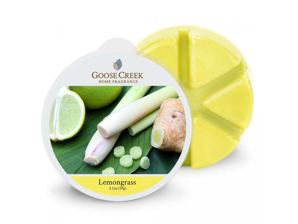 Goose Creek Candle Vonný Vosk Citronová tráva - Lemongrass, 59 g