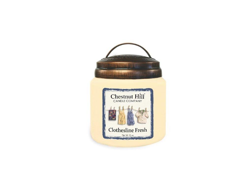 Chestnut Hill Candle svíčka Čisté prádlo - Clothesline Fresh, 454 g