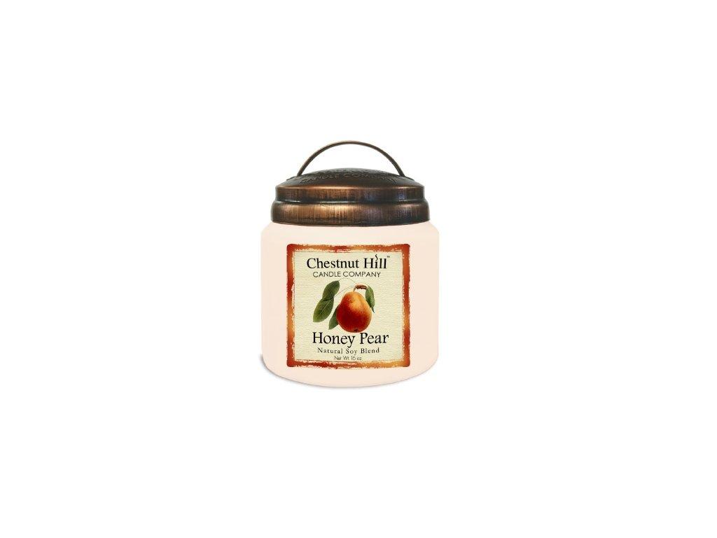 Chestnut Hill Candle svíčka Medová hruška - Honey Pear, 454 g