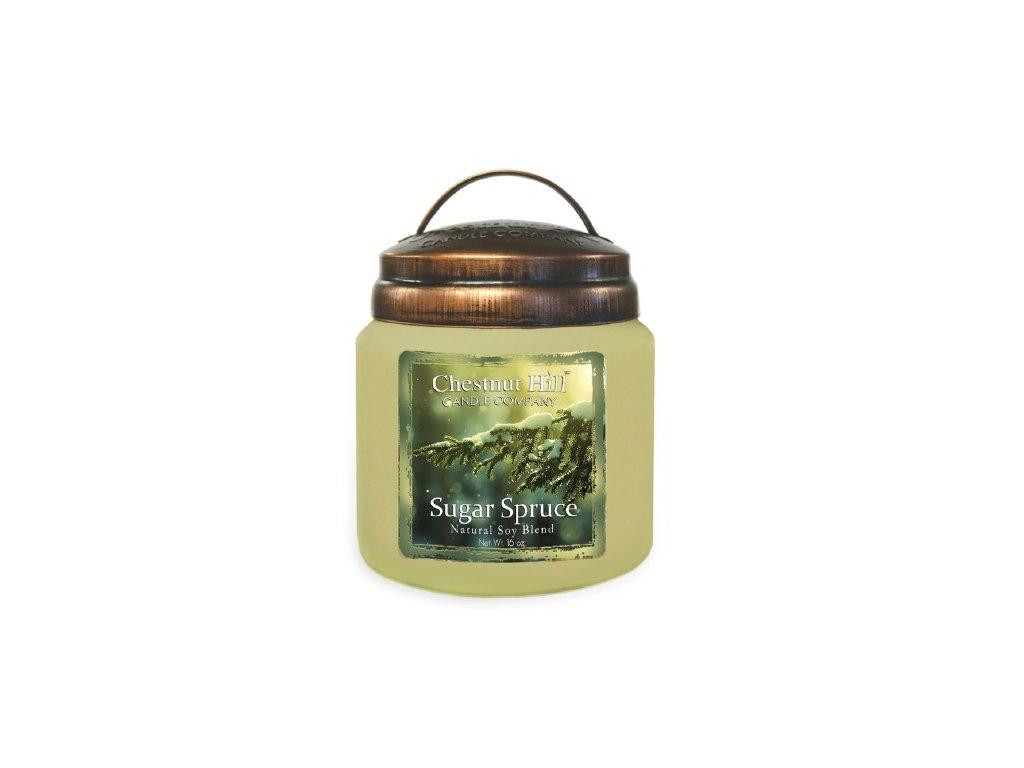 Chestnut Hill Candle svíčka Sladký smrk - Spruce, 454 g