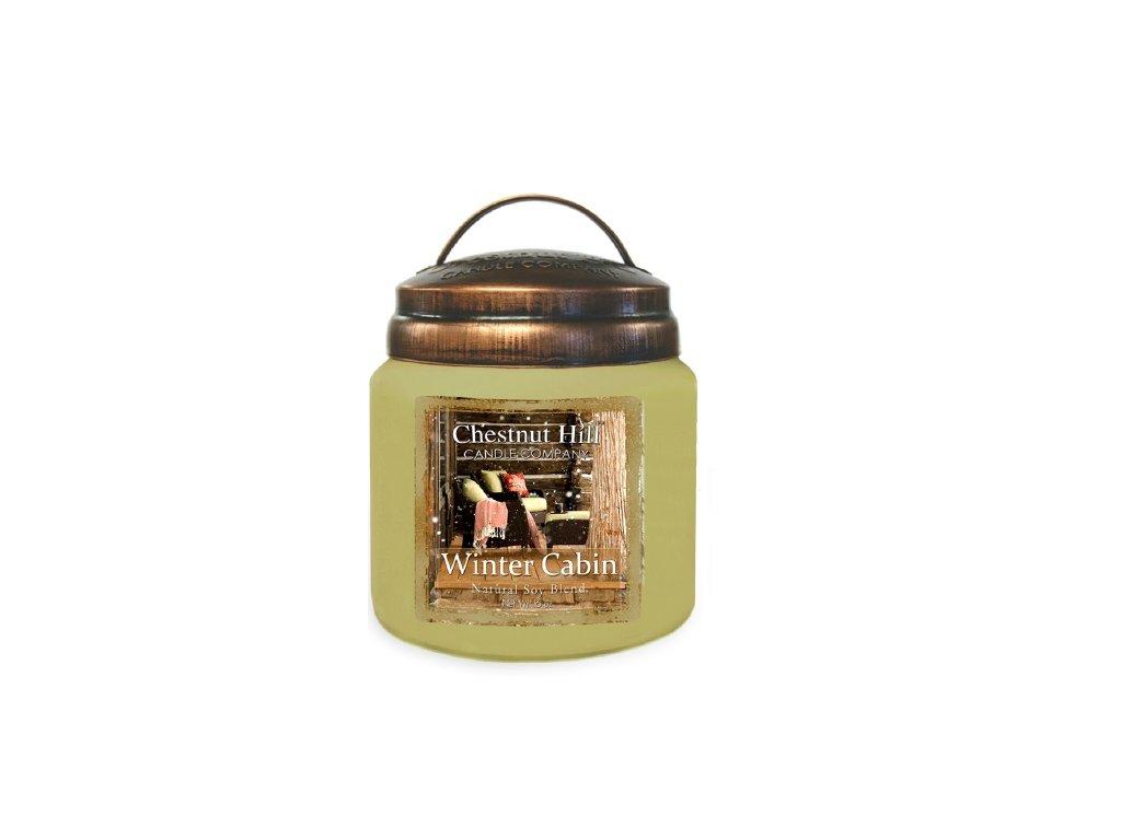 Chestnut Hill Candle svíčka Horská bouda - Winter Cabin, 454 g