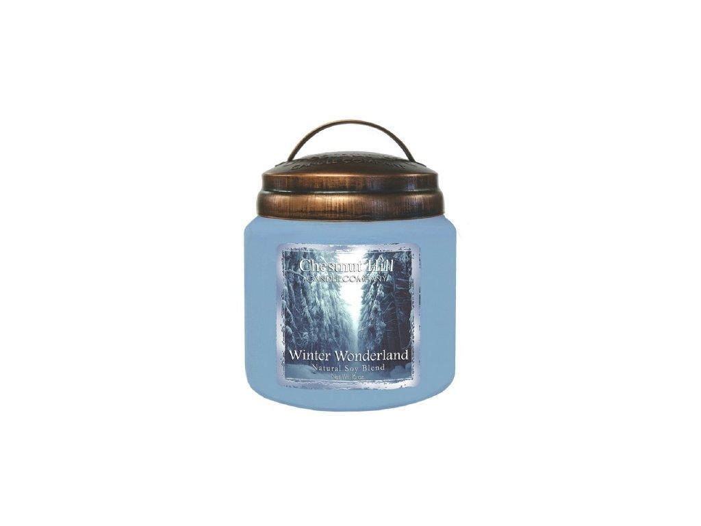 Chestnut Hill Candle svíčka Zimní říše divů - Winter Wonderland, 454 g