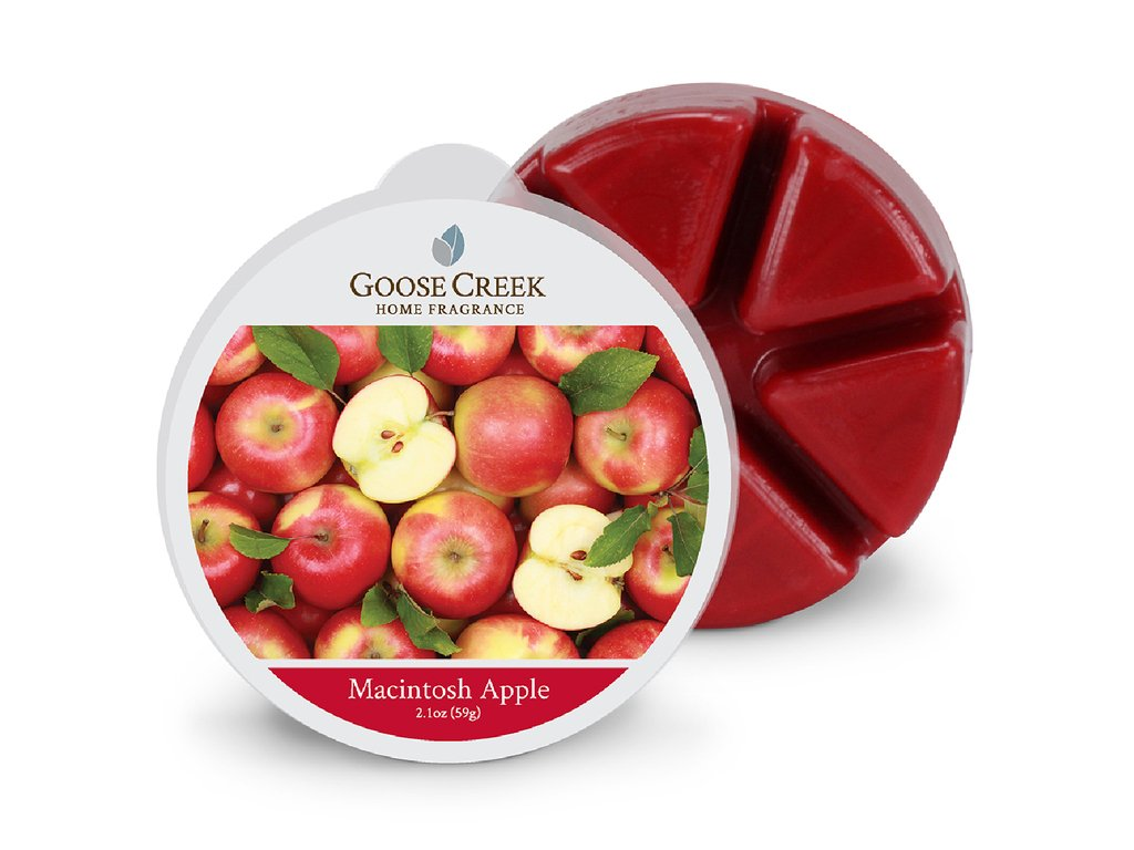 Goose Creek Candle Vonný Vosk Šlupky z jablek - Macintosh Apple, 59 g