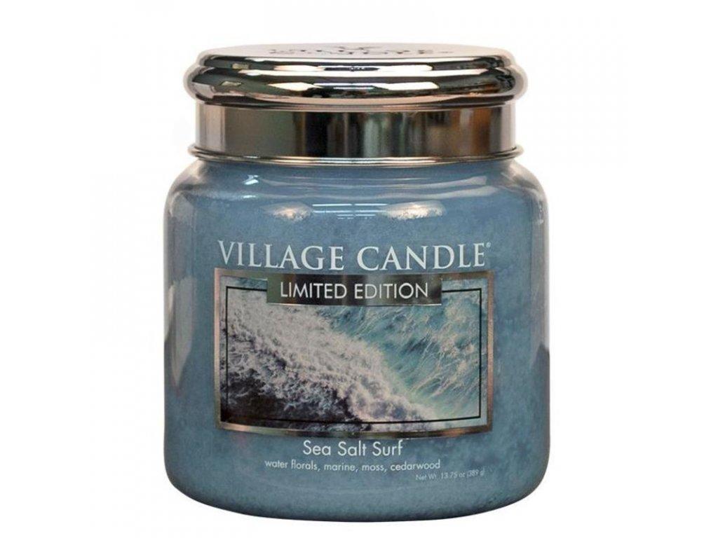 Village Candle Vonná svíčka Mořský Příboj - Sea Salt Surf, 390 g