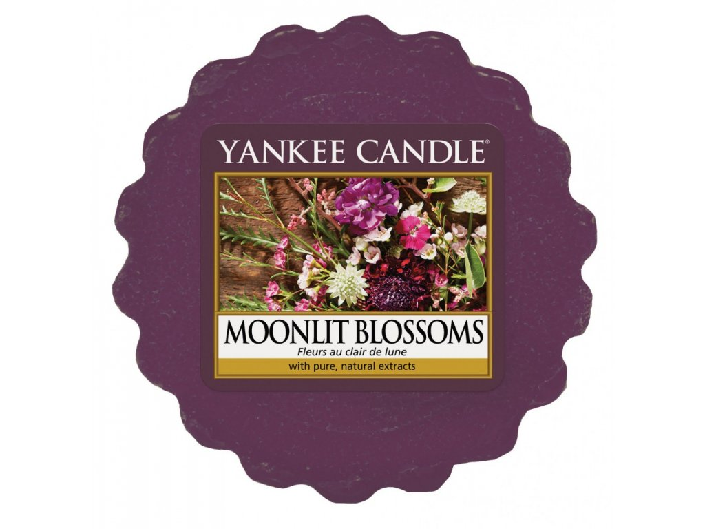 Yankee Candle - Moonlit Blossoms Vosk do aromalampy, 22 g