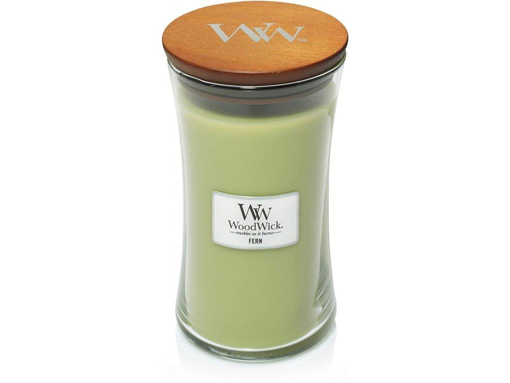 WoodWick Svíčka Fern váza velká, 609,5 g