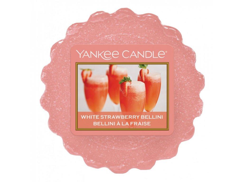Yankee Candle - White Strawberry Bellini Vosk do aromalampy, 22 g