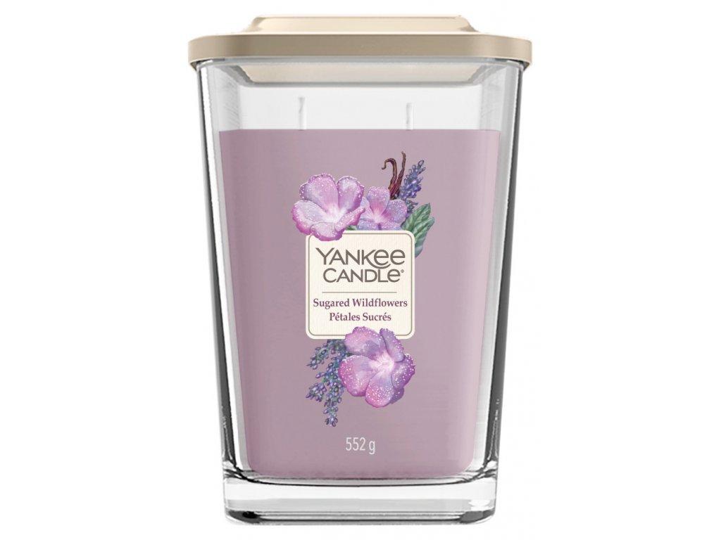 Yankee Candle Svíčka Elevation Sugared Wildflowers velká, 552 g