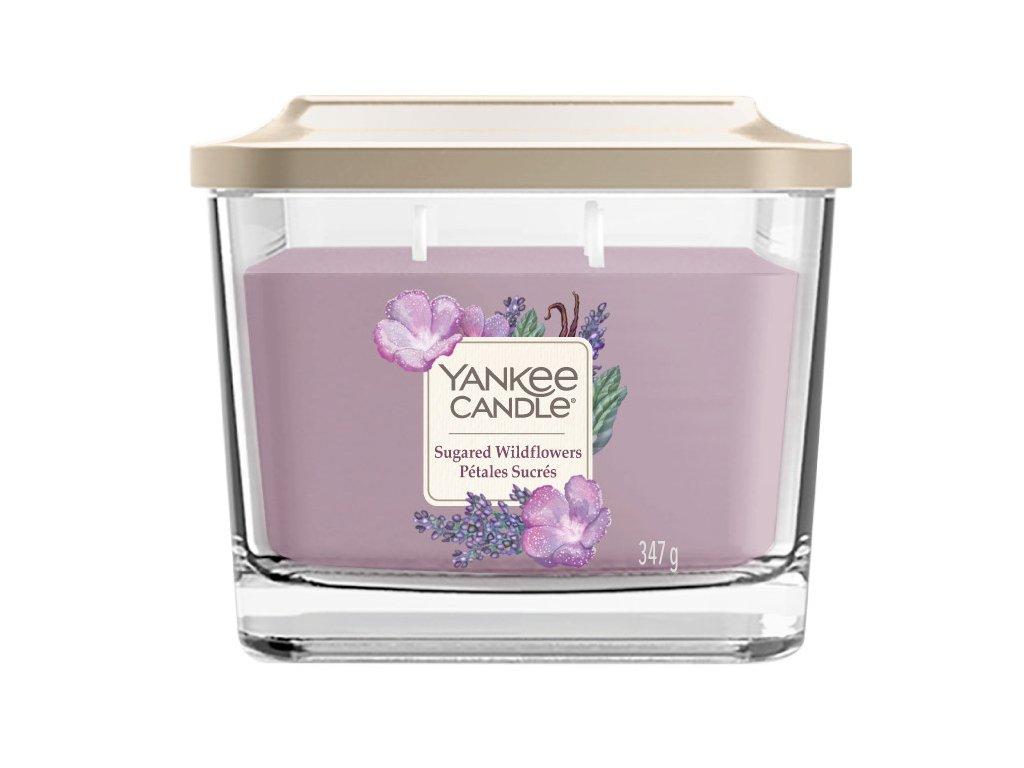 Yankee Candle Svíčka Elevation Sugared Wildflowers střední, 347 g