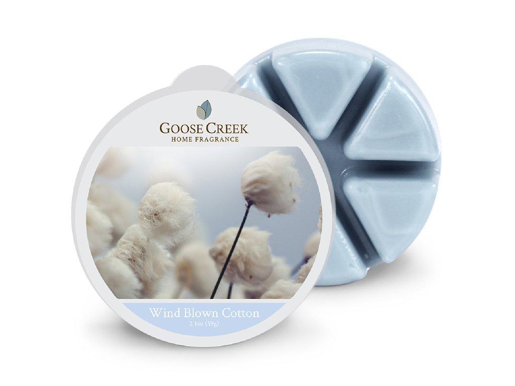 Goose Creek Candle Vonný Vosk Větrem vyfoukaná bavlna - Wind Blown Cotton, 59 g