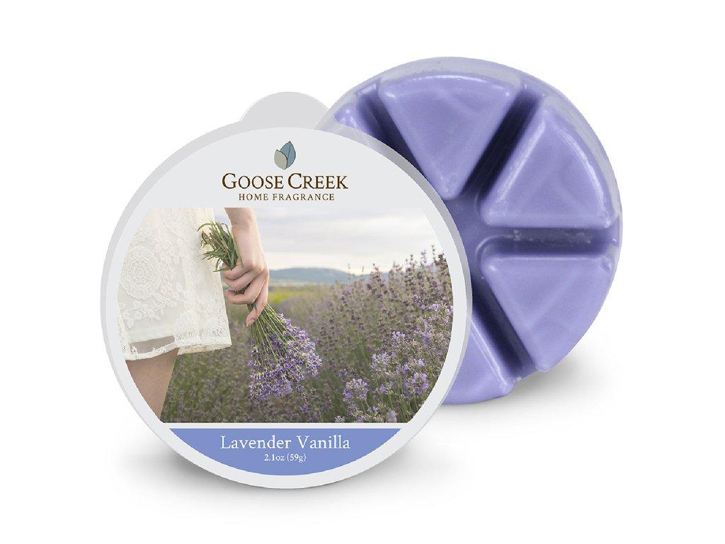 Goose Creek Candle Vonný Vosk Vanilková Levandule - Lavender Vanilla, 59 g